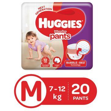 Huggies Wonder Pants Medium Size Pant Style Diapers - 20 Pieces