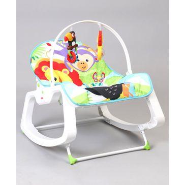 Fisher Price Infant To Toddler Rocker Animal Design - Green