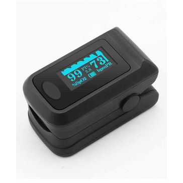 Sahyog Wellness Fingertip OLED Type Pulse Oximeter -Black Freeoffer