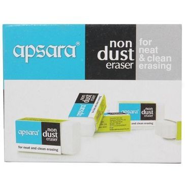 Apsara Non Dust Jumbo Eraser Online in India, Buy at Best Price from  Firstcry com - 55179