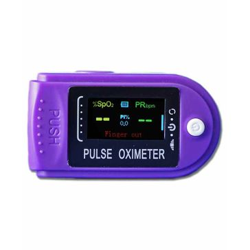 Trueview Pulse oximeter Model i31 - Purple Freeoffer