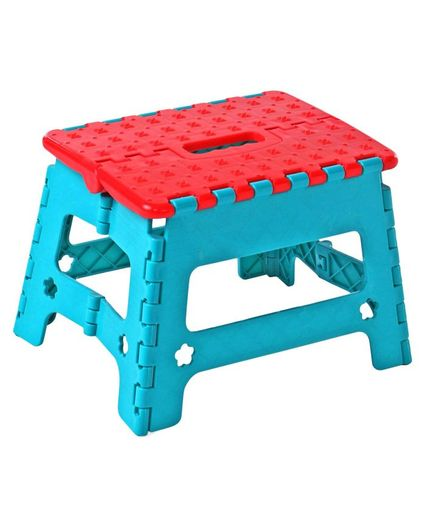 Incredible Folding Stool Blue Red Online In India Buy At Best Price Caraccident5 Cool Chair Designs And Ideas Caraccident5Info