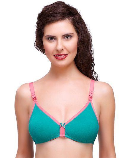 05ea424b01 Inner Sense Organic Antimicrobial Nursing Bra Green Pink Online in ...