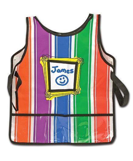 Melissa And Doug Baby Apron - Multicolor