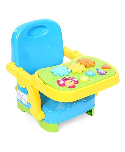 2112725a7 Winfun Musical Baby Booster Seat Blue Yellow Online in India