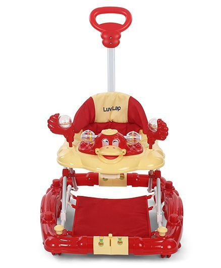 27fd728ac54 LuvLap Comfy Baby Walker with Rocker Red 18233 Online in India