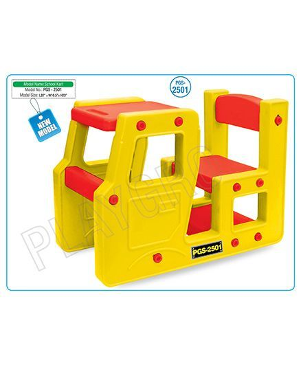 c1ed485952 Playgro Toys School Kart Yellow Red PGS2501 (color may vary ...