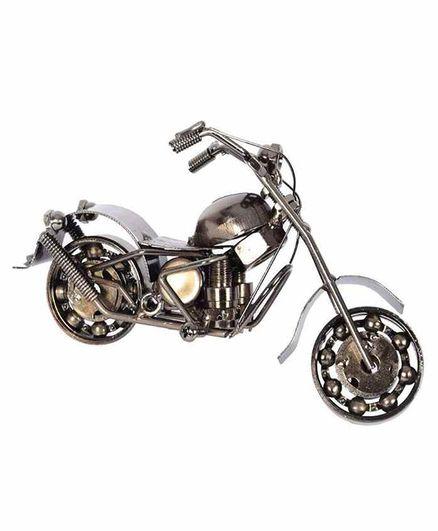 Desi Karigar Harley Davidson Replica Toy Bike Silver Online In India