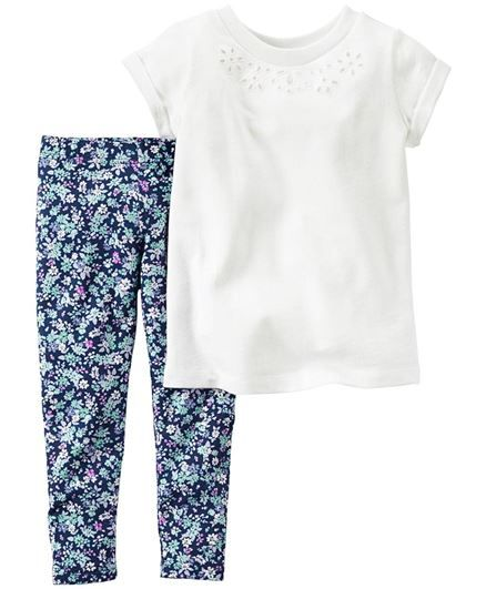 Carter's 2-Piece French Terry Top & Legging Set