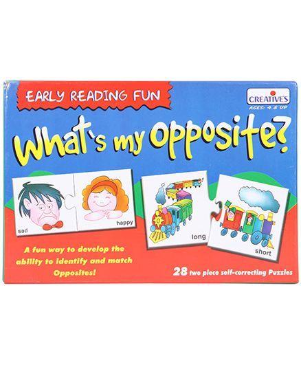 ce7c032e8 Creatives Pre School Whats My Opposite Puzzle 28 Pieces Online ...