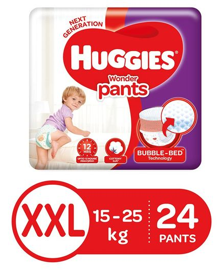 Huggies Wonder Pants XX Large Pant Style Diapers - 24 Pieces