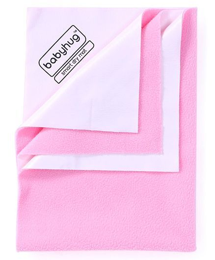 Babyhug Smart Dry Bed Protector Sheet Extra Large - Pink