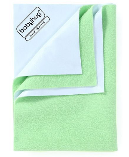 Babyhug Smart Dry Bed Protector Sheet XXL - Pista Green