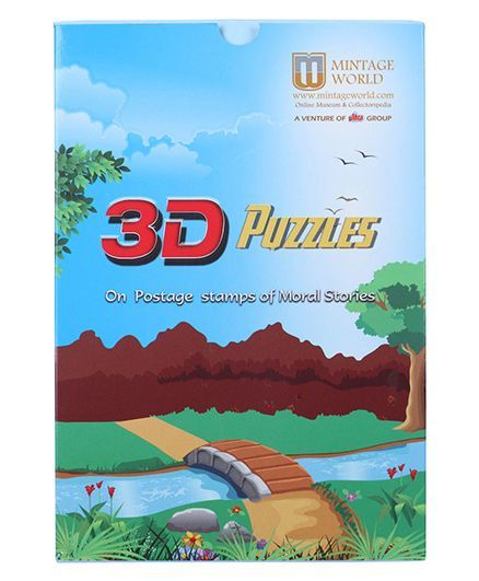 Ultra Mintage 3D Jigsaw Puzzles of Postage Stamps With Moral Stories Online  India, Buy Puzzle Games & Toys for (4-8 Years) at FirstCry com - 1253106