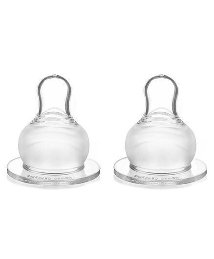 8a90280fefb04 Babyhug Silicone Nipples Fast Flow Pack of 2 Online in India