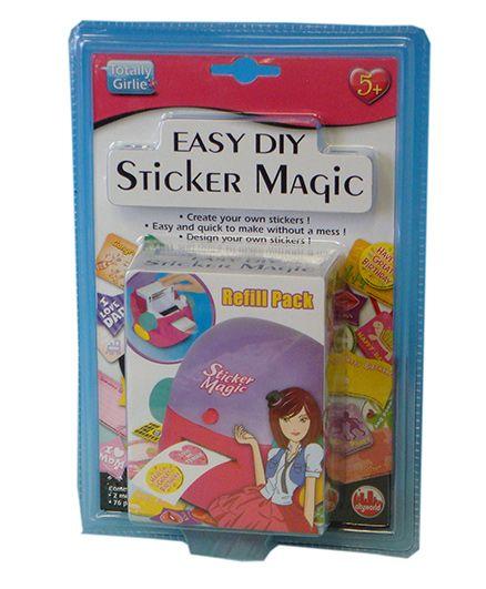 totally girlie sticker magic refills multi color online india buy