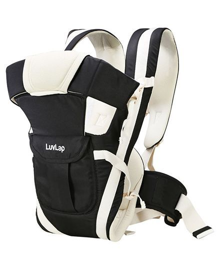 LuvLap Elegant Baby Carrier - Black