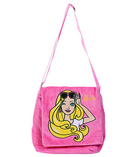 01c5d0ff3b Barbie Plush Sling Bag Pink Online in India, Buy at Best Price from ...