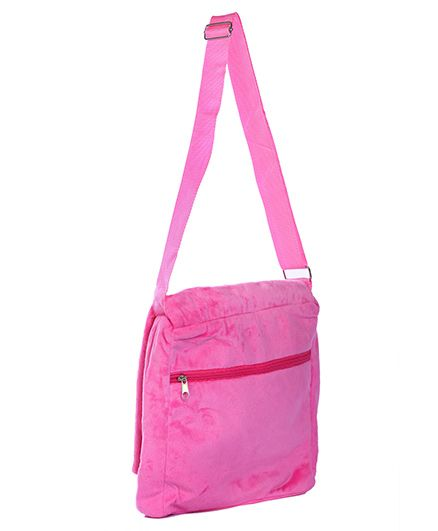 71ace14acc8f Barbie Plush Sling Bag Pink Online in India, Buy at Best Price from  Firstcry.com - 1296107