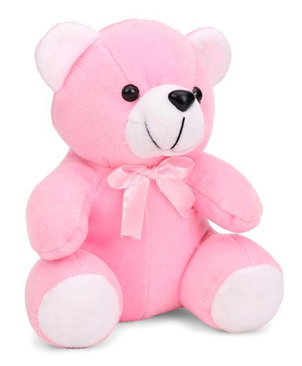 d4bd0e5c4e5b2 Playtoons Teddy Bear With Bow Pink 15 cm Online India