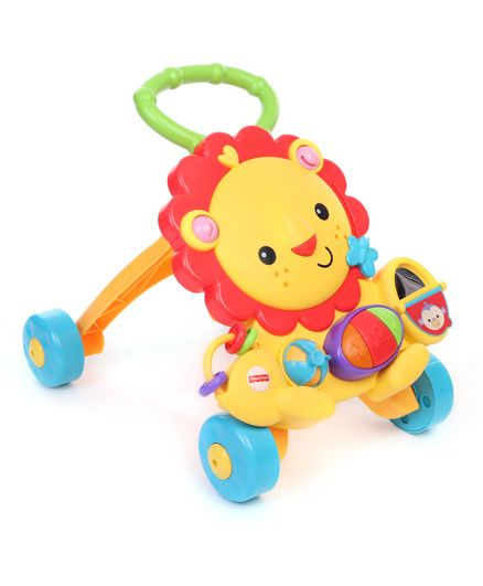 9af16332c Fisher Price Musical Walker Lion Shape Multicolor Online in India, Buy ...