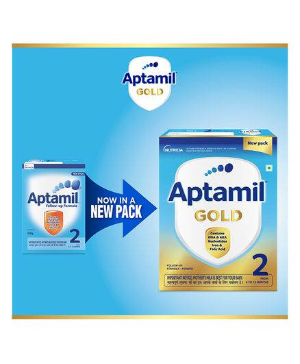 Aptamil 2 Follow Up Formula - 400 grams