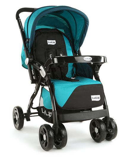 d3df4c8a91bdd LuvLap Galaxy Baby Stroller Green & Black Online in India, Buy at Best  Price from Firstcry.com - 1318920