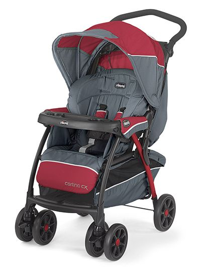 Chicco Cortina Cx Stroller Lava Maroon Grey Online In India Buy At Best Price From Firstcry Com 1345327