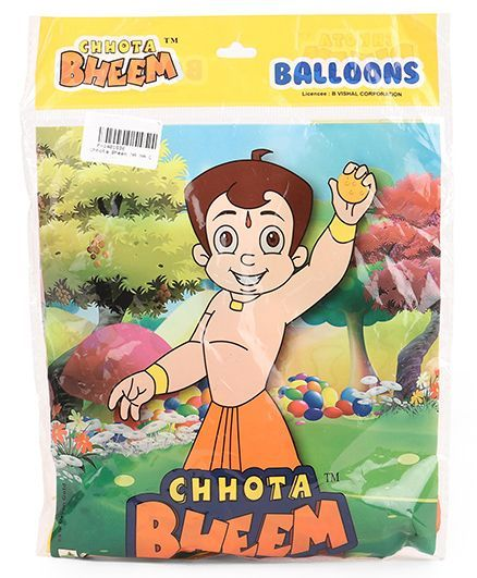 Chhota Bheem Balloons Pack Of 25 Orange Online In India Buy At