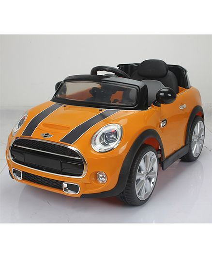 Bmw Mini Cooper 195 Battery Operated Ride On Orange Online In