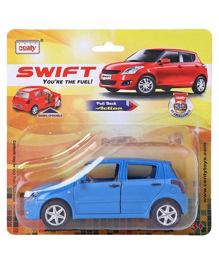 Centy Pullback Toy Car Swift - Blue
