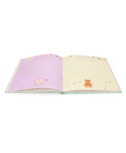 Archies Baby Record Book - Green
