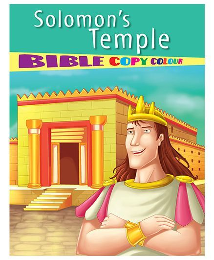 Solomons Temple Bible Copy Colour Book English Online in India, Buy at Best  Price from Firstcry com - 1437582