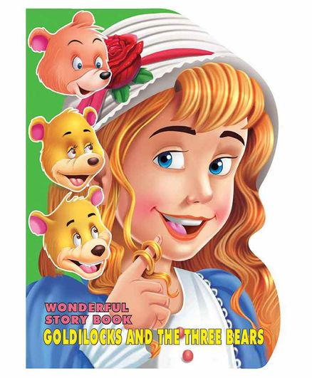 Wonderful Story Board Book Goldilocks And The Three Bears - English