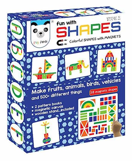 Play Panda Senior Fun With Shapes Type 2  - Multi Color