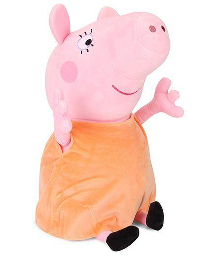 072b304750c Peppa Pig Mummy Pig Plush Soft Toy Pink   Brown 46 cm Online India ...