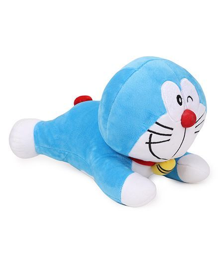 Doraemon Plush Soft Toy Blue - 30 cm Approx Freeoffer