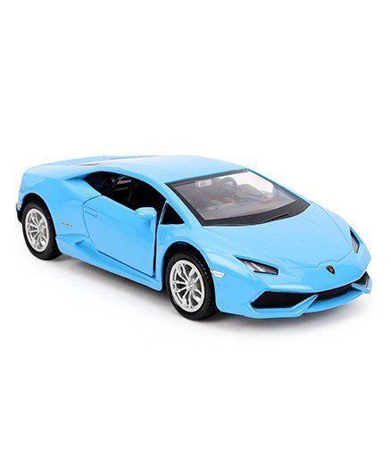 Rmz Lamborghini Huracan Lp 6104 Toy Car Sky Blue For 3 8 Years