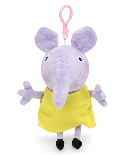 ed8386f1c33 Peppa Pig Emily Elephant Clip On Soft Toy Yellow 19 cm Online India ...