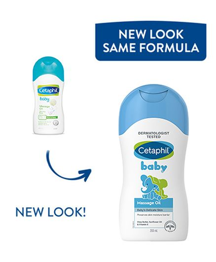 Cetaphil Baby Massage Oil With Triple Blend - 200 ml
