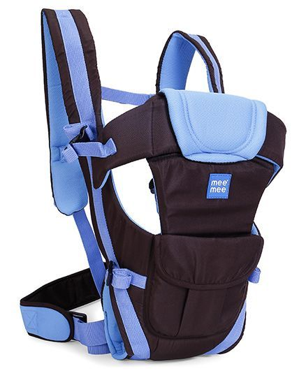 Mee Mee Lightweight Breathable Baby Carrier Blue