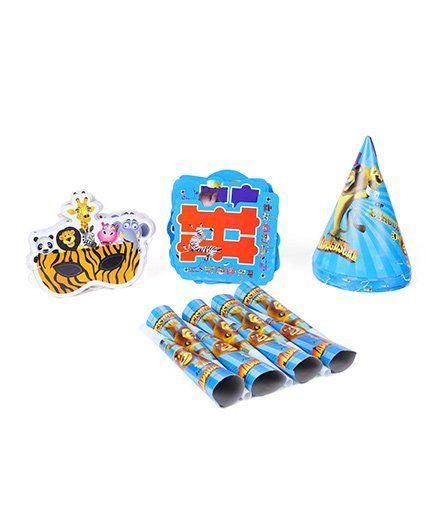 Themez Only Jungle Madagascar Theme Birthday Party Kit