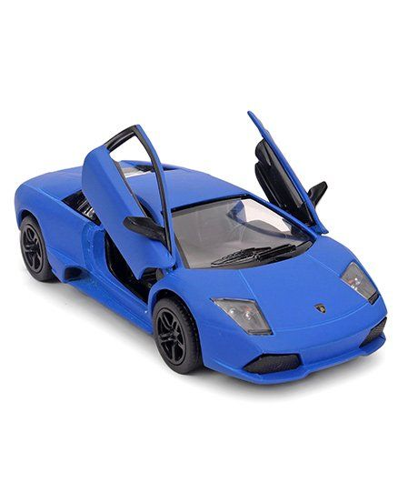 Kinsmart Die Cast Lamborghini Murcielago Lp640 Toy Car Royal Blue