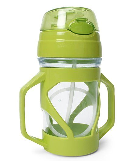 Sipper Bottle With Straw - 250 ml