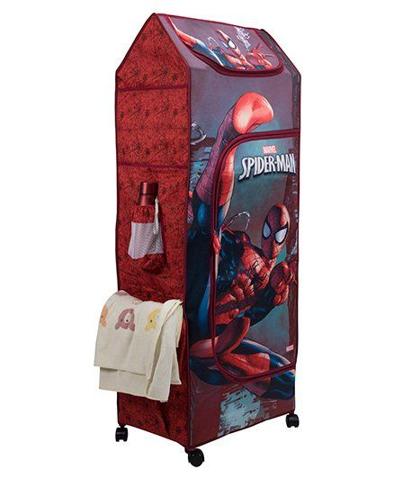 9d0bda092f341 Marvel Spider Man Fun Closet Folding Wardrobe Red Online in India ...