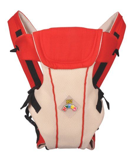 Kudos Baby Multi Position Baby Carrier - Red Beige