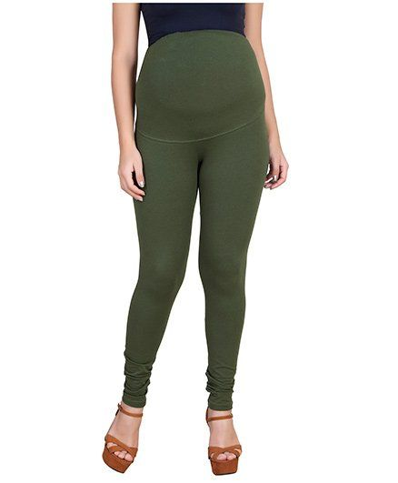 f9167a77e0208 Blush 9 Maternity Leggings Green Online in India, Buy at Best Price ...