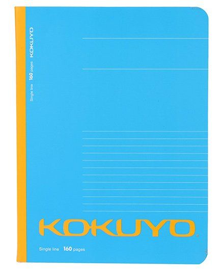 Kokuyo Single Line Notebook Blue 160 Pages Online in India, Buy at Best  Price from Firstcry com - 1799577