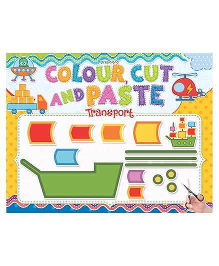 Colour Cut And Paste Transport - English