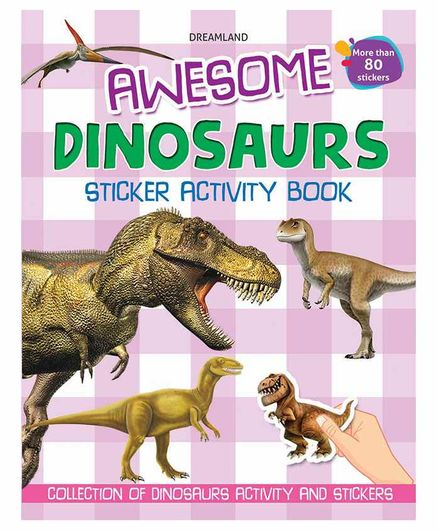 Awesome Dinosaurs Sticker Activity Book - English